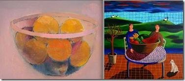 Caroline og Kirsten malerier fra facebook
