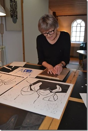 Kirsten og grafik i Hjørring